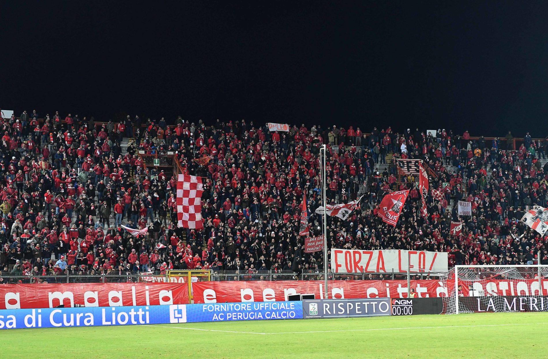 Perugia-Brescia, biglietti in vendita da mercoledì ...