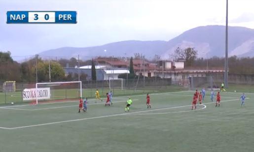 Femminile: la sintesi di Napoli-Perugia 3-0 (VIDEO) - Calcio Grifo